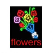 Flowers Neon Sign